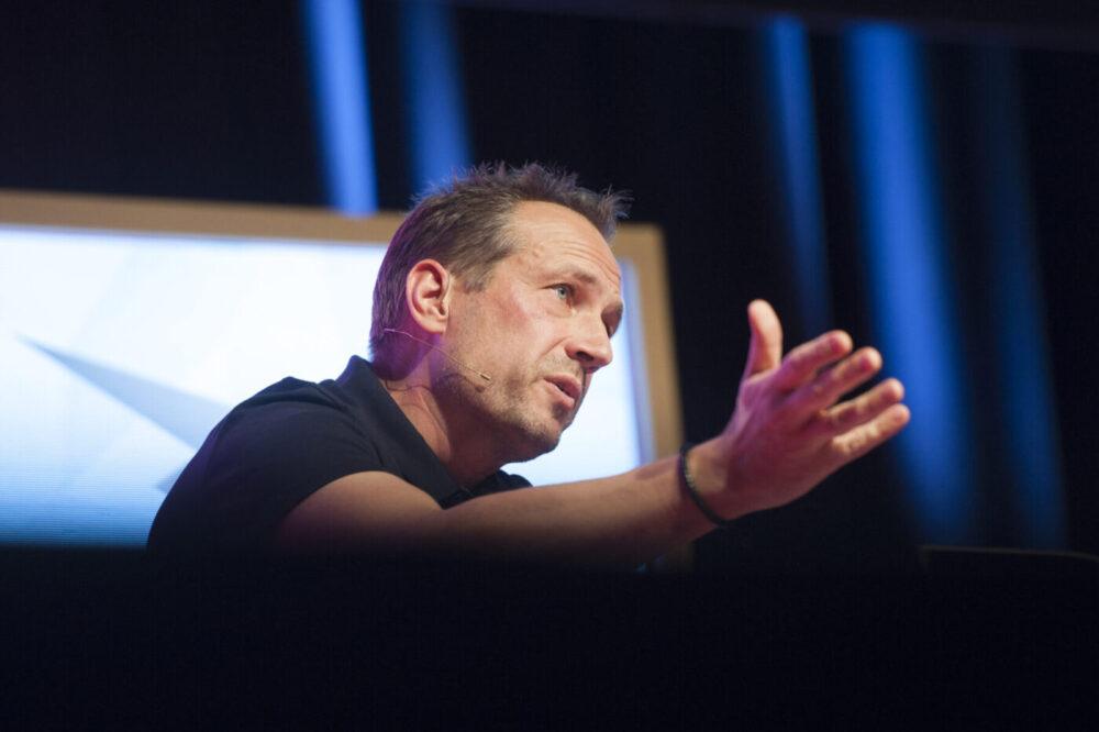 Martin Thorborg holder foredrag