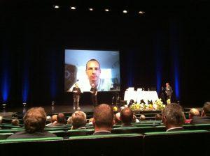 Skype foredrag for Midtjysk Lederforum taget af Ulrich Gorm Albrechtsen